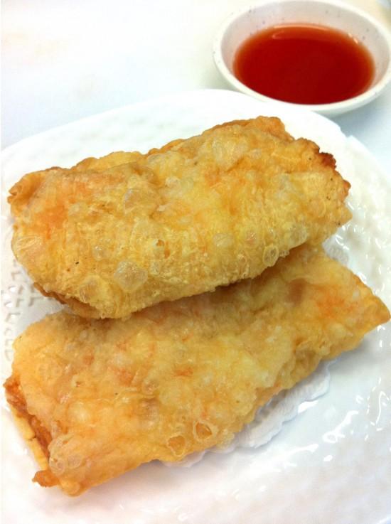 Fresh Prawn Bean Curd roll - Yum Cha Guide