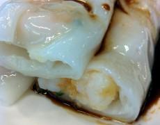 Steam rice paper roll (prawns)